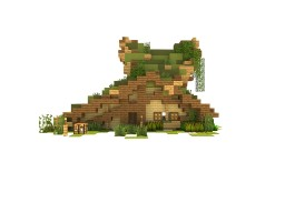 Forest Style Fantasy House Minecraft