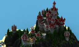 Lonely Castle - IRIUMBT Minecraft