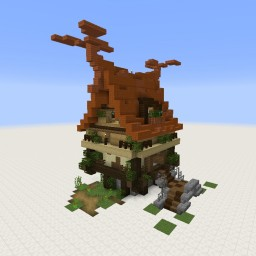 House Attempt With Blocks I Don't Use Much Minecraft Map & Project