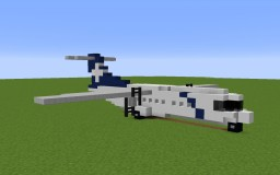 Air New Zealand/Mount Cook Airline ATR 72-500 ZK-MCB (Pacific Wave livery) Minecraft Map & Project