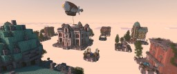Residence - classic town Skywars/BedwarsMap Minecraft Map & Project