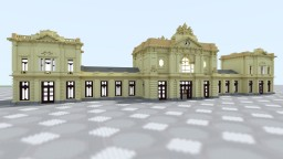 Trainstation at Leuven, Belgium Minecraft Map & Project