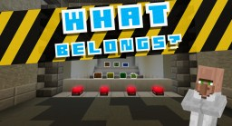 What Belongs? Minecraft Map & Project
