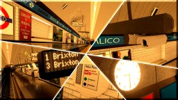 X.M.R. London Underground Pimlico | Extreme Minecraft Realism Minecraft Map & Project