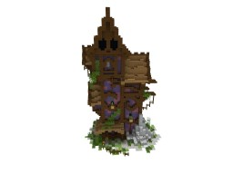 Fantasy Tower House Minecraft Map & Project
