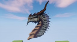Dragon head thing. Minecraft Map & Project