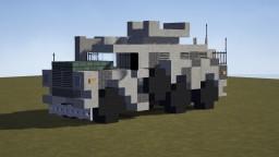 "A Good Day To Die Hard ""DARTZ MRAP"" Minecraft Map & Project"