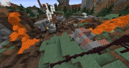 Post Apocalypse Minecraft Map & Project
