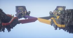 The Bridge 4v4v4v4  MAP I [FREE DOWNLOAD] Minecraft Map & Project