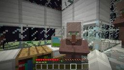 Villager Space Base Minecraft Map & Project