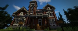 Detailed Victorian Mansion