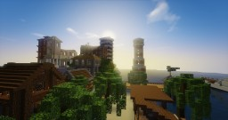 New City Construction Minecraft Map & Project