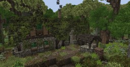 Medieval Woodland Cottage (Conquest Reforged) Minecraft Map & Project