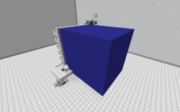 Hardened concrete machine Minecraft Map & Project