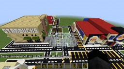 Real Life Stores Hidden Button 2 Minecraft Map & Project