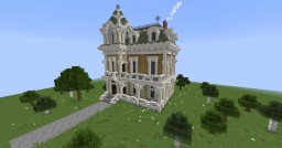 Simple Victorian/Gothic House Minecraft Map & Project