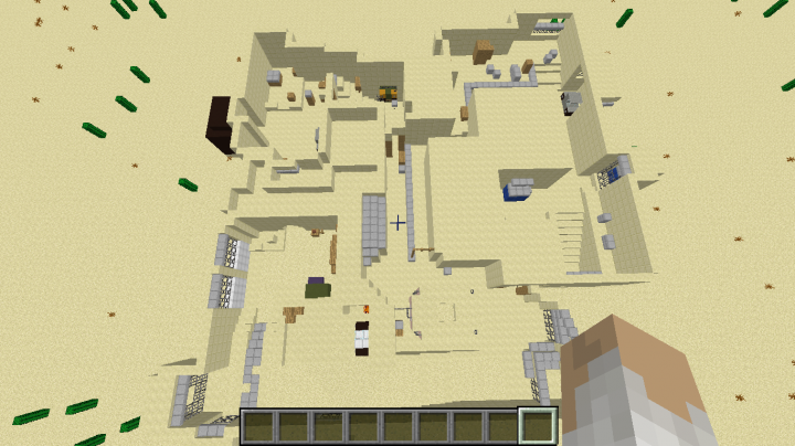 Dust 2 Map Dust 2 Map From The Popular Game CS:GO Minecraft Project