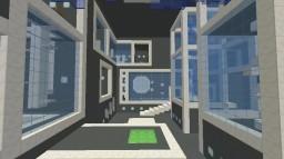 Portal 2 Aperture Mega Parkour Minecraft Map & Project
