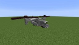 V-22 Osprey   1:1 Scale Replica Minecraft Map & Project