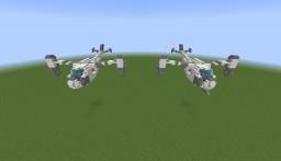RWBY - Bullhead   1:1 Scale Minecraft Map & Project