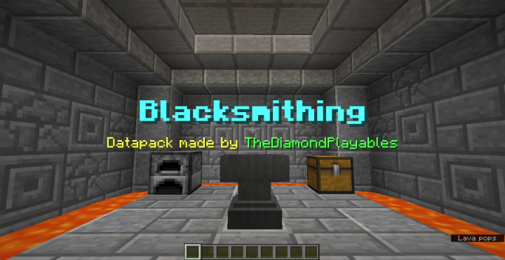 No more limitations in Blacksmithing!