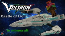 Voltron Castle of Lions-spaceship mode 1.13 Minecraft Map & Project