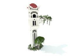 Fallen Elven Tower Minecraft Map & Project