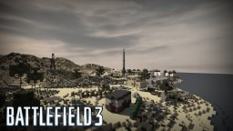 "Battlefield 3 ""Kharg Island"" Minecraft Map & Project"