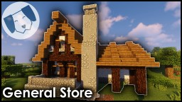Medieval General Store Minecraft Map & Project
