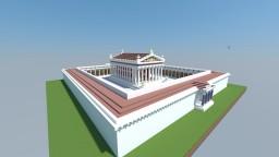 Roman Temple of Hadrian Minecraft Map & Project