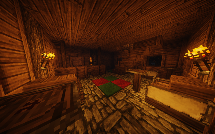 Inside a tavern