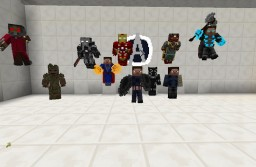 Marvel Content Pack for Armourer's Workshop (For 1.7.10 or 1.12.2 mod version) Minecraft Mod