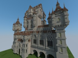 "Castle ""Flamboyant"" Minecraft Map & Project"