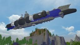 "UCS ""Paris"" Class Battleairship - Version 2 Minecraft Map & Project"