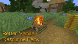 Better Vanilla ResourcePack - MRP Minecraft Texture Pack
