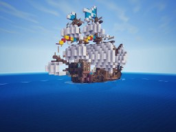 Medieval fleet of James IV Minecraft Map & Project