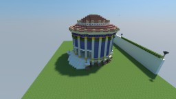 Roman temple of Vesta V2 Minecraft Map & Project
