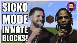 Travis Scott - SICKO MODE ft. Drake | Minecraft Note Block Song Minecraft Map & Project