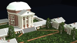 University of Virginia - Palladian Architecture Minecraft Map & Project