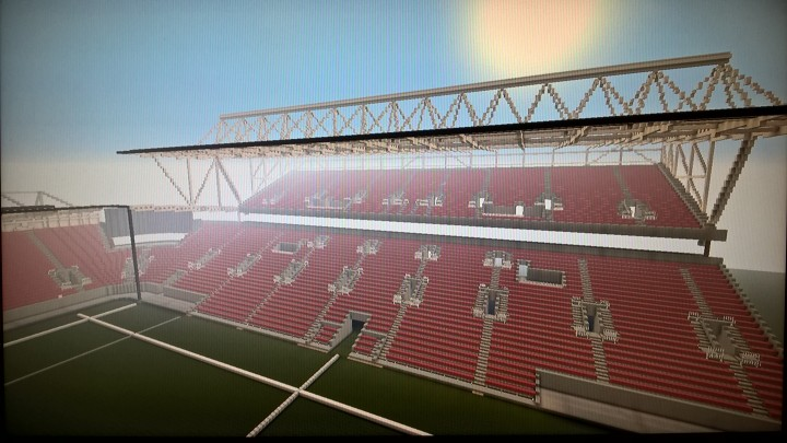 A better view of the Lansdown Stand - January 14, 2019