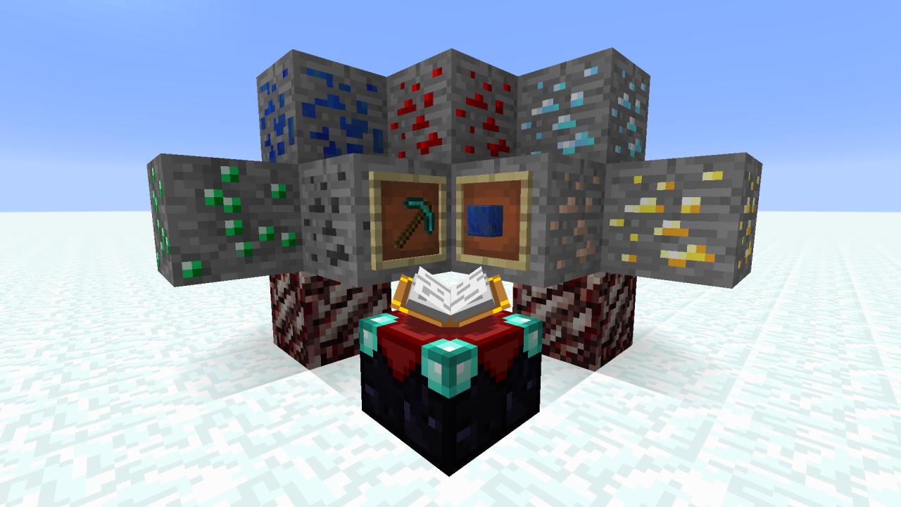 Vein Mining Datapack Minecraft Data Pack