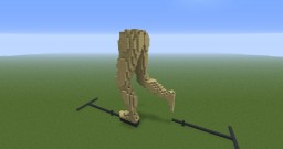 Wooden Pair of Legs - Running Minecraft Map & Project