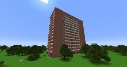 Typical apartment building series Tower Vulyha/Типовой жилой дом серии Башня Вулыха Minecraft Map & Project