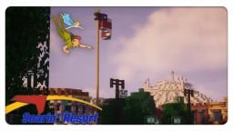 Disneyland Soarin' Resort Minecraft Map & Project