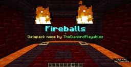 Fireballs Datapack! Become a Firebender! (1.13-1.13.2) Minecraft Data Pack