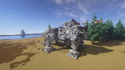 Republic All Terrain Tactical Enforcer (2:1 Scale) Minecraft Map & Project