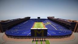 Michigan Stadium Minecraft Map & Project