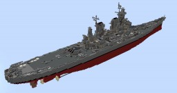 USS New Jersey 1:1 Scale Minecraft Map & Project