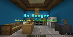 No Hunger Datapack: Eat Food = More Health (1.13-1.13.2) Minecraft Data Pack