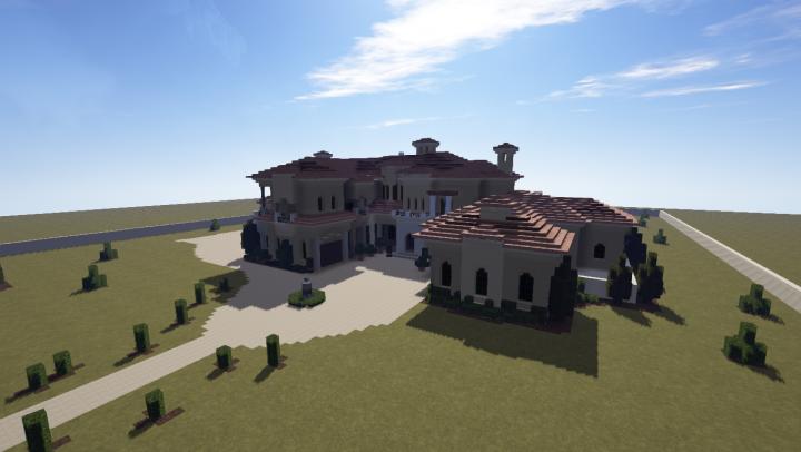 Mediterranean Mansion!